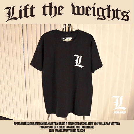 ''Lift the weights''Tシャツ