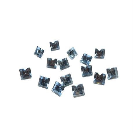 2Ab-3パウダーブルー6mm 【5粒】