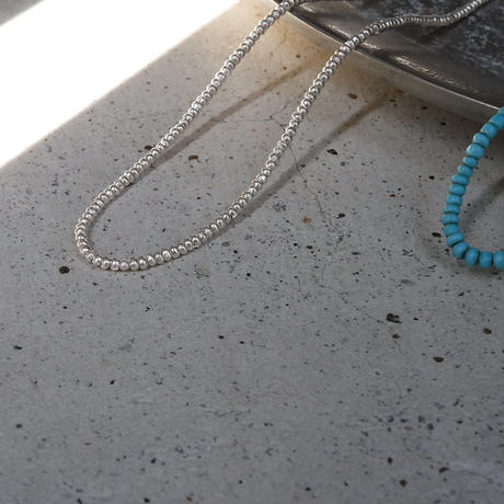 seeds double necklace TURQUOISE