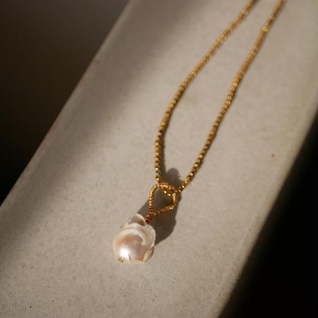 baroque pearl necklace -c-
