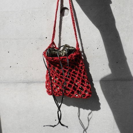 grit ami ami bag RED