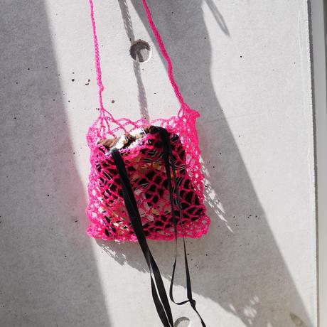 amiami mesh bag PINK