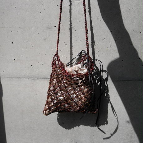 grit ami ami bag DARK RED