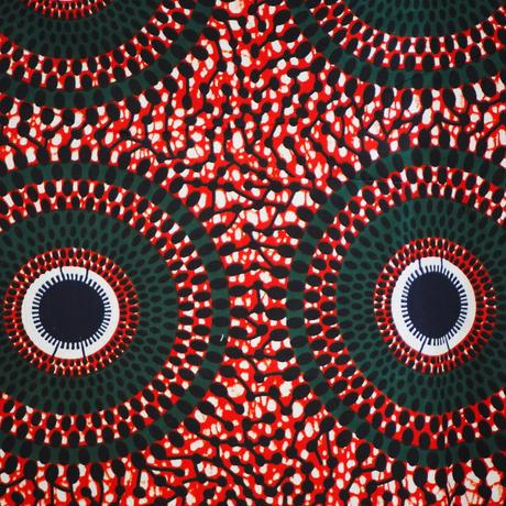 batik kaftan -dark red-