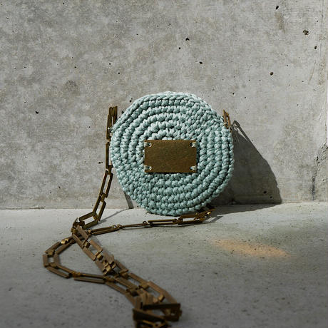 circle porch necklace-MINT-