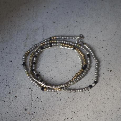 Ethiopian cross necklace -gold/silver A-