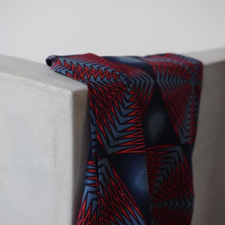 batik wrap skirt - rokkaku-