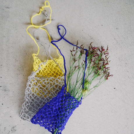 amiami mesh bag YELLOW