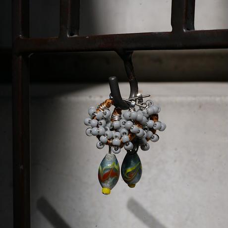 India grass pierce/earrings - cement-