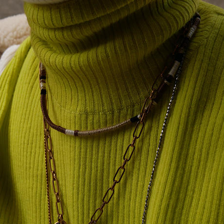 code necklace thin