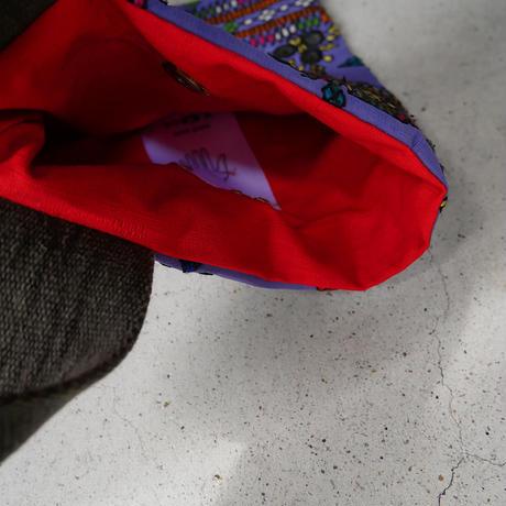 South Asia handle bag PURPLE