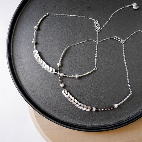 snake  round necklace
