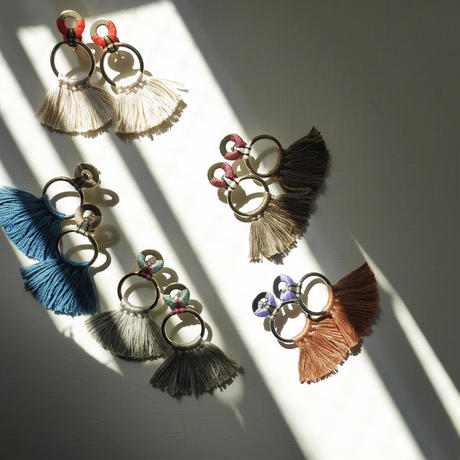 fringe pierce/earrings  MINT