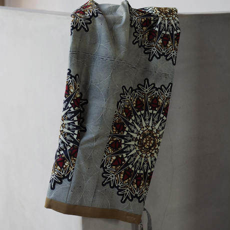 batik wrap skirt -rashinban-