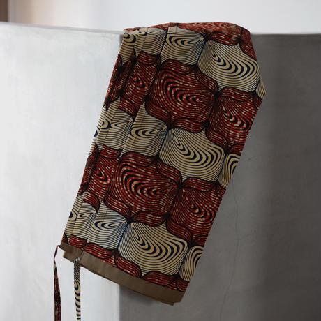 batik wrap skirt -mekuramashi-