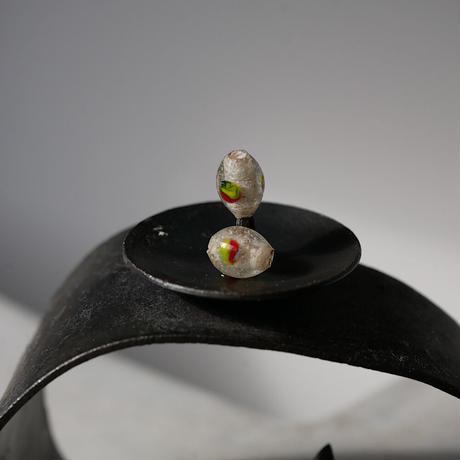 India grass pierce/earrings -light green -