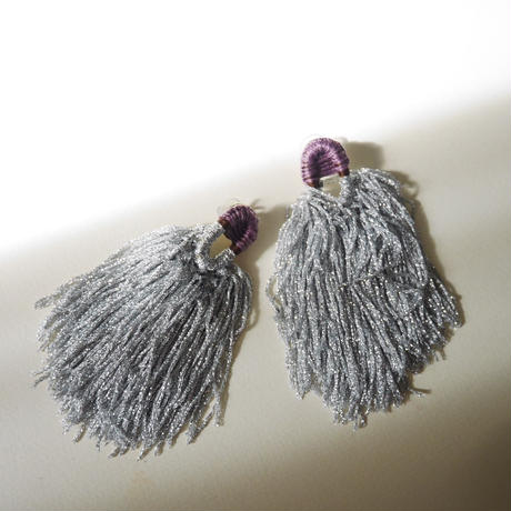 shi shi  pierce/earrings SILVER