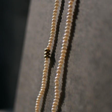 SP long pearl necklace