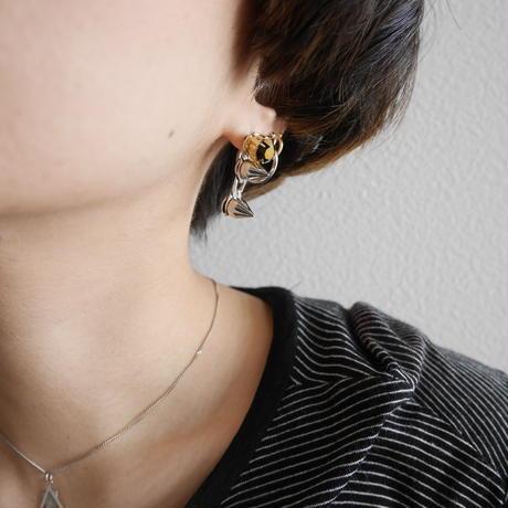 bijou spyke pierce/earr clip  GOLD