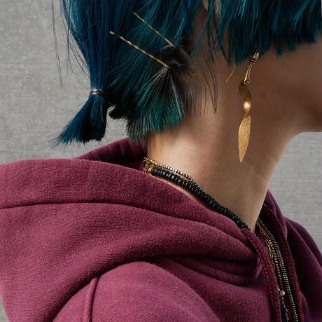 twist brass pierce/earrings