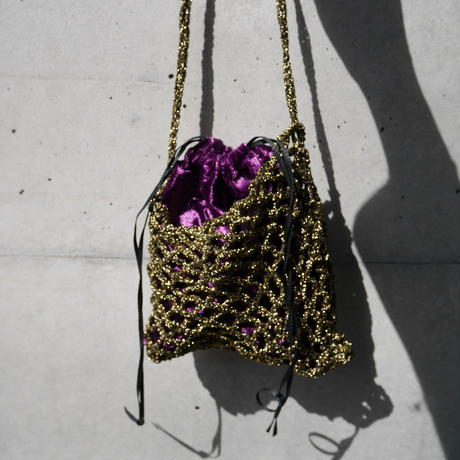 grit ami ami bag  GOLD