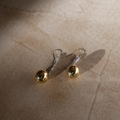 gamelan double pierce/earrings SHORT