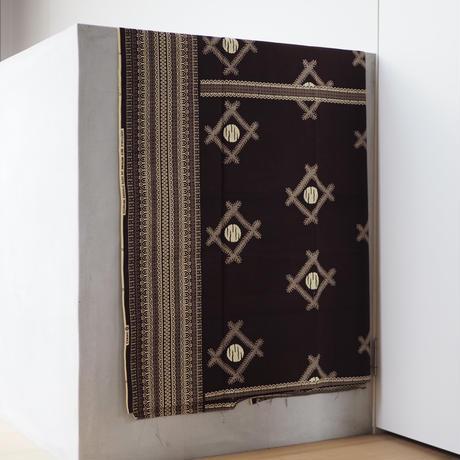 batik kaftan -brown-