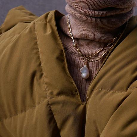 baroque pearl necklace -e-