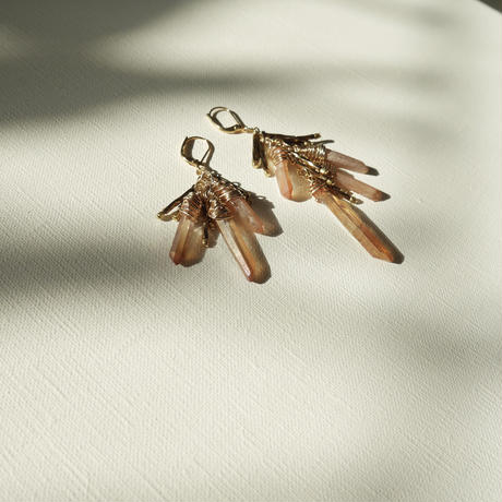stem pierce/earrings COPPER
