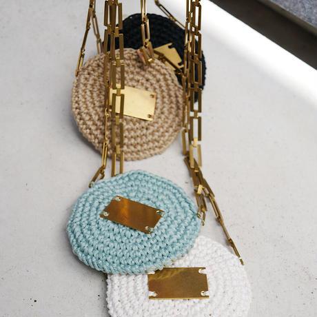 circle porch necklace-MINT-