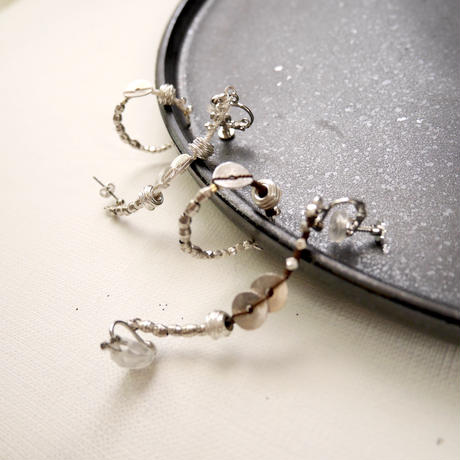 snake ear cuff asymmetry set