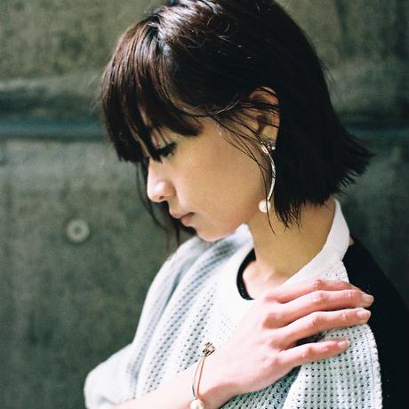 tube pierce/earrings METAL×SILVER