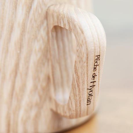 木製マグカップ ペッシュ ドゥ ヒョータン コラボ(ペア2個入)