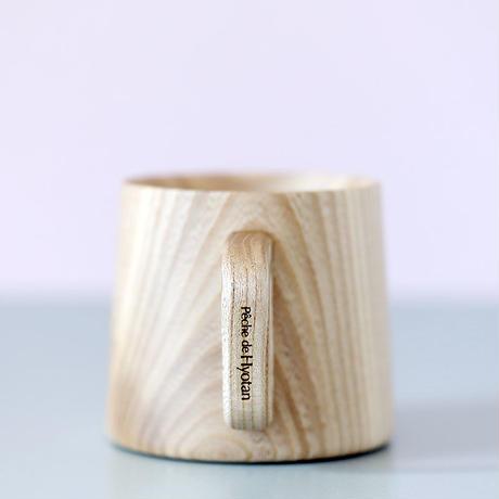 木製マグカップ ペッシュ ドゥ ヒョータン コラボ(1個入)