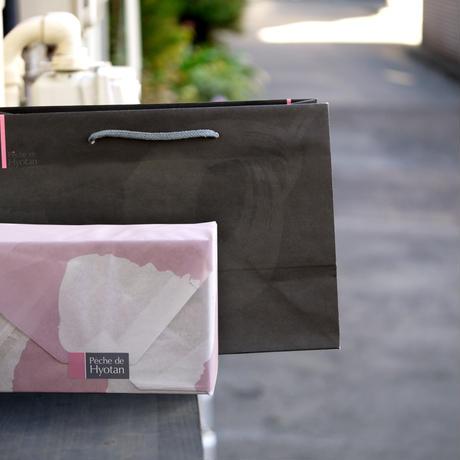 ヒョータンの3,000円ギフト+トートバッグ(紅茶12包+キャラメルアーモンド1瓶+トートバッグ1個入)
