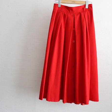OLD PLEATED SKIRT MADE IN FRANCE