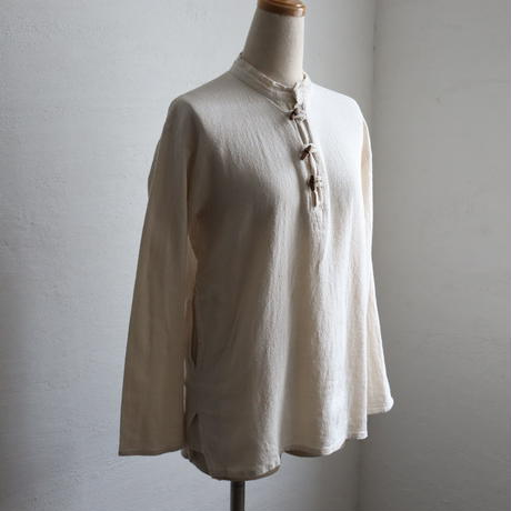 INDIAN COTTON PULLOVER SHIRT