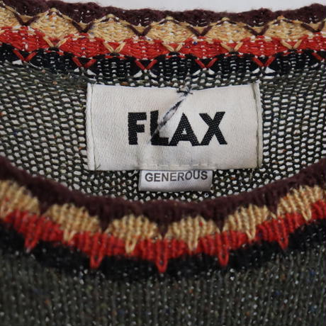 FLAX LOOSE SUMMER KNIT TOP