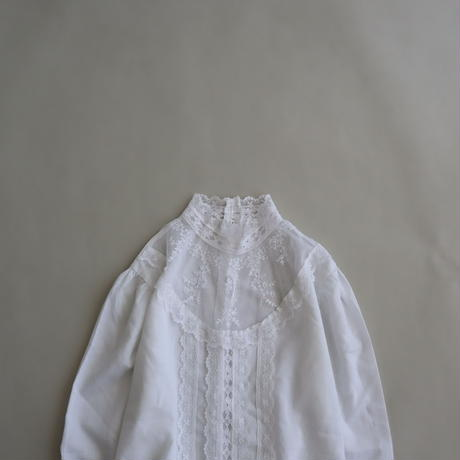 old lace blouse