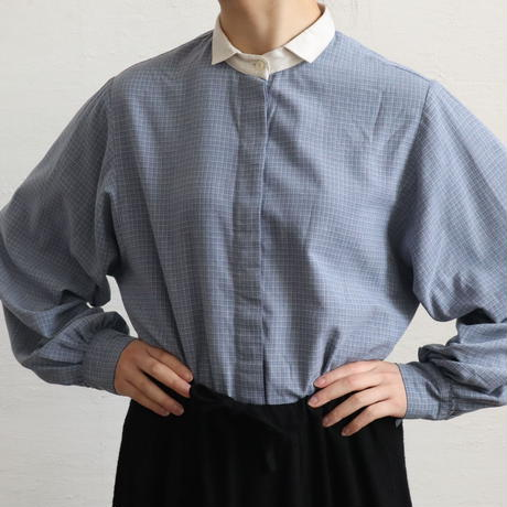 EURO VOLUME SLEEVE COTTON BLOUSE