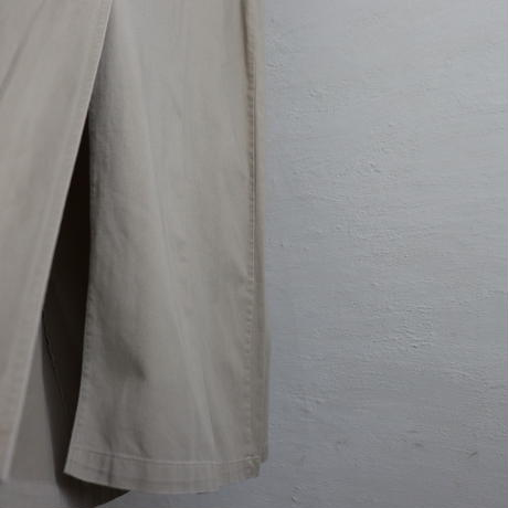 COTTON TWILL OVERALL SKIRT