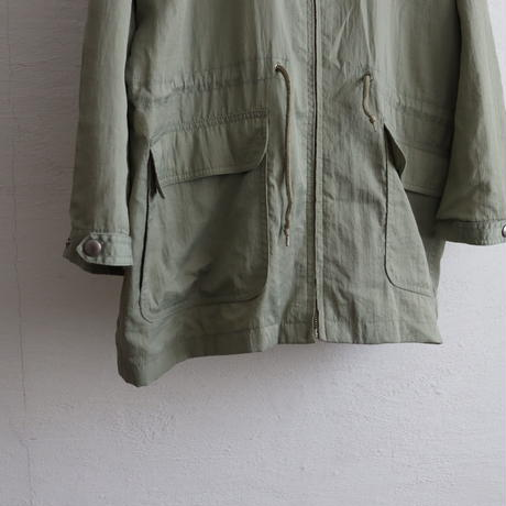 OLD GAP NYLON CLOTH HOODED JKT