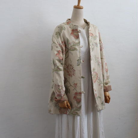 STAND COLLAR EMBROIDERY JKT