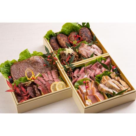 肉が好きといわれる方へ厳選豪華肉おせち「肉づくし重」