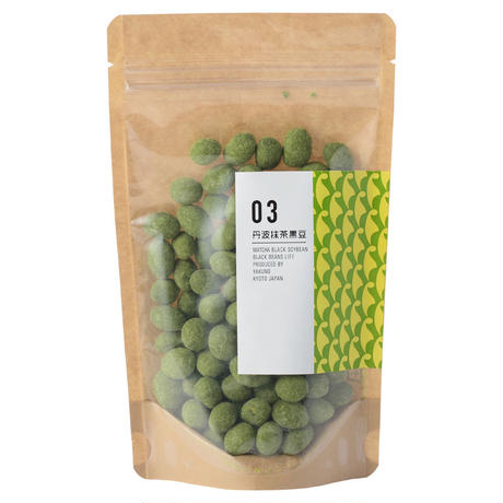 丹波抹茶黒豆 100g    Matcha Black Soybean