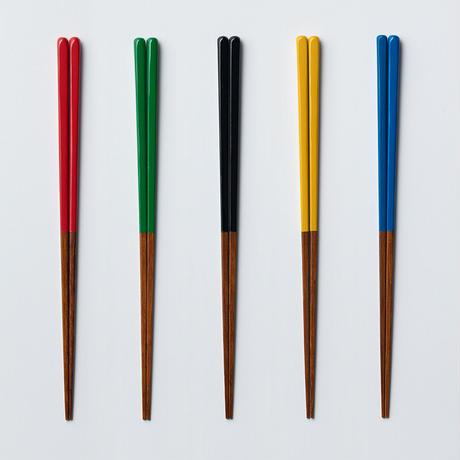 うるしカラー角箸