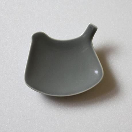 tori plate ( arita limited color ) gray(ツヤ) トリプレート 有田限定色 グレー(ツヤ)