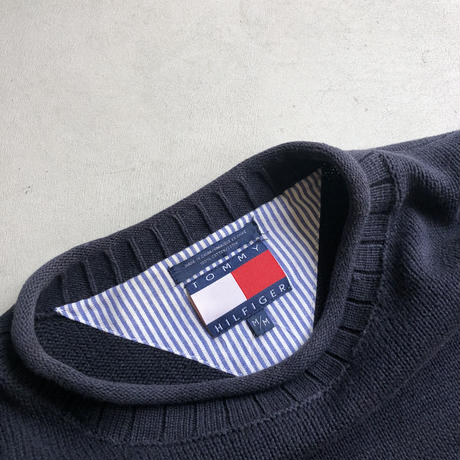 90s TOMMY HILFIGER Border Cotton Knit