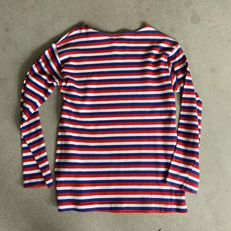 Le minor Boat neck top RED