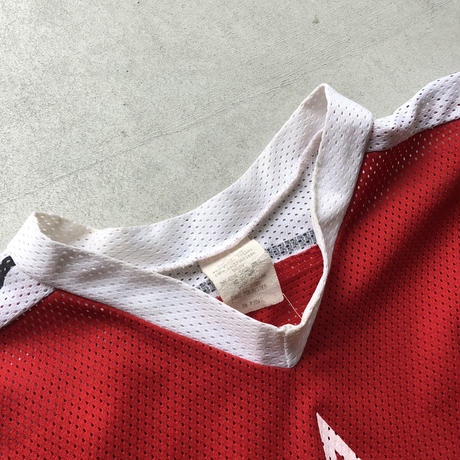 90s  Mesh Game Shirt Red